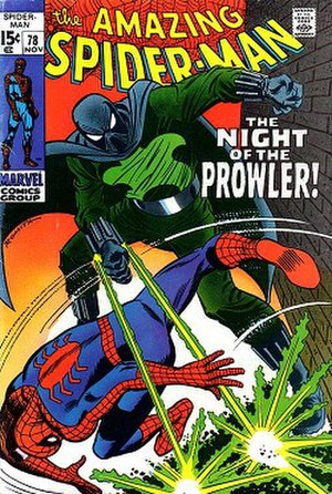 Prowler (comics) - Image: Amazing Spider Man (Vol. 1) 78