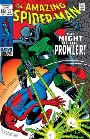 Prowler (comics) - Image: Amazing Spider Man (Vol. 1) 78