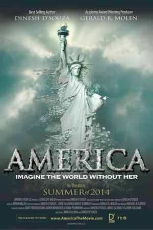America: Imagine the World Without Her - Theatrical release poster