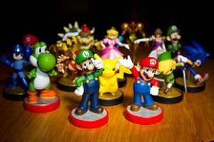 Amiibo - Several Amiibo figurines