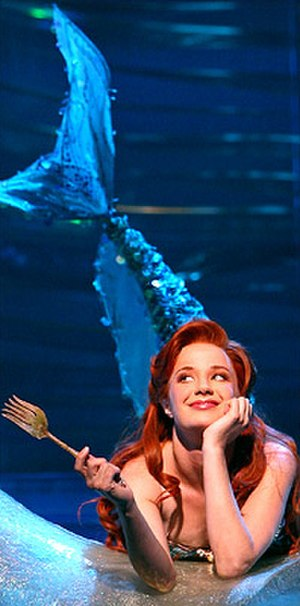 "The Little Mermaid (musical) - Sierra Boggess as Ariel in ""Part of Your World"""