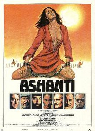 Ashanti (1979 film) - Ashanti theatrical 1979 movie poster