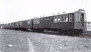 MS Multi-section car (New York City Subway car) - The production model of the MS Multi-section cars.