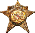 Badge of a Prince George's County Sheriff's Office deputy.png