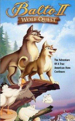 Balto II: Wolf Quest - DVD release cover