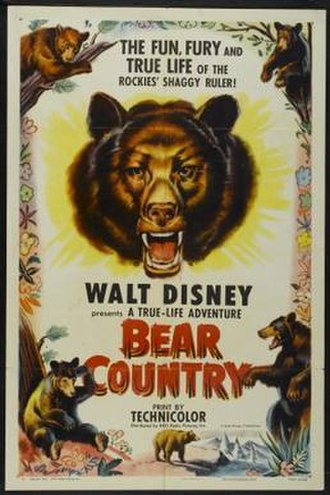 Bear Country (film) - Film poster