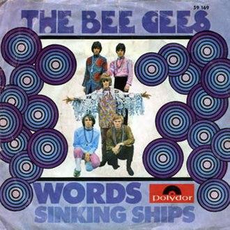 Words (Bee Gees song) - Image: Bee Gees Words