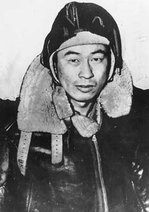 "Japanese American service in World War II - U.S. Army Air Force Technical Sargent Ben Kuroki was highly decorated in combat, serving in both European and Pacific theaters of war. His wartime nicknames were ""Most Honorable Son"" and ""Sad Saki."""