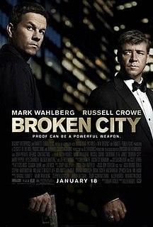 <i>Broken City</i> 2013 American neo-noir crime thriller film directed by Allen Hughes and written by Brian Tucker