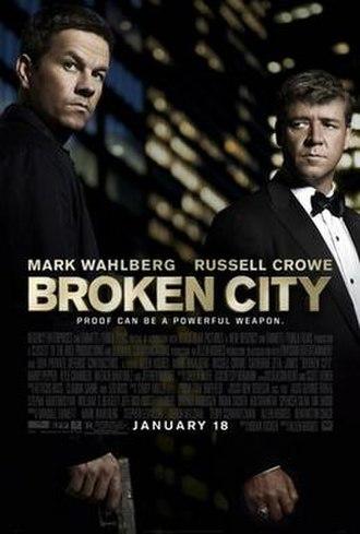 Broken City - Theatrical release poster