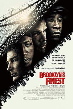 Brooklyn's Finest - Theatrical release poster