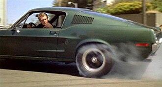 Bullitt - Bullitt burning rubber in the car chase scene