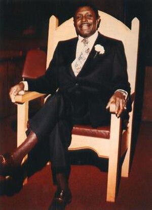 C. L. Franklin - Franklin in 1975.
