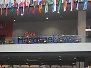 Offices for CNN HeadlineNews.