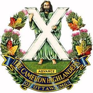 The Cameron Highlanders of Ottawa (Duke of Edinburgh's Own)