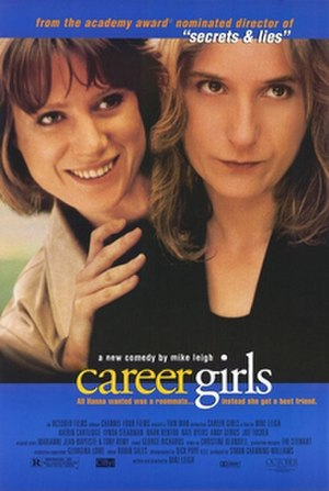 Career Girls - Promotional poster for Career Girls