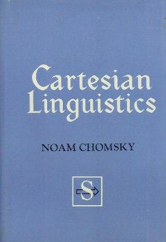 Cartesian linguistics - First edition (publ. Harper & Row)