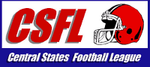 Central States Football League logo