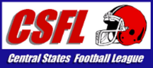 Central States Football League - Image: Central States Football League logo