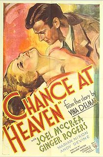 <i>Chance at Heaven</i> 1933 film by William A. Seiter