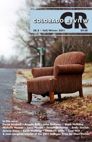 Colorado Review - Image: Colorado Review Fall Winter 2011 cover