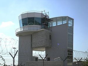 Comiso Airport - The control tower