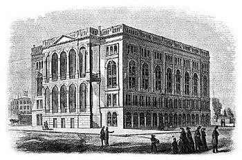 Cooper Union Building 1858