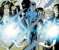 Cosmic Boy member of the Legion of Super Heroes