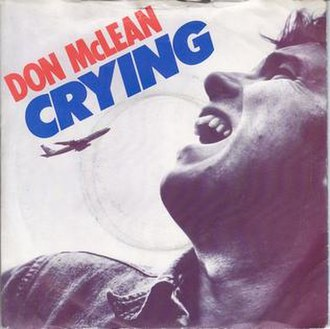 Crying (Roy Orbison song) - Image: Crying Don Mc Lean