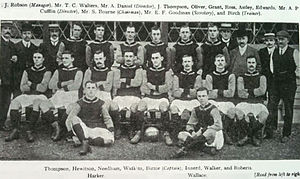 1905–06 Crystal Palace F.C. season - The Crystal Palace squad of 1905–06