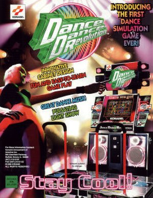 Dance Dance Revolution (1998 video game) - Image: DDR 1st MIX flyer