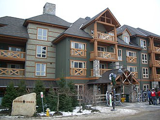 Blue Mountain (ski resort) - Weider Lodge are lodgings named after Jozo Weider, the founder of Blue Mountain.