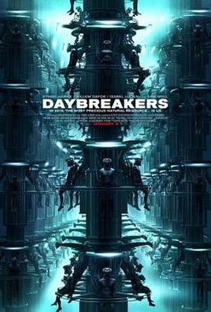 Daybreakers - Theatrical release poster