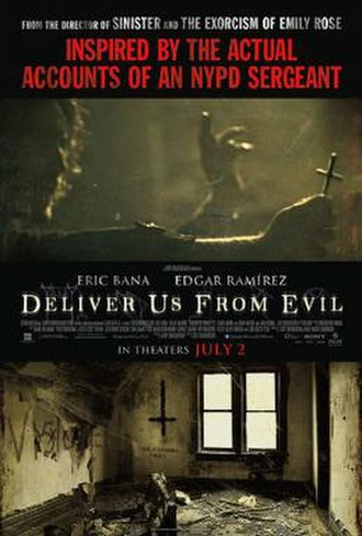 Deliver Us from Evil (2014 film) - Theatrical release poster