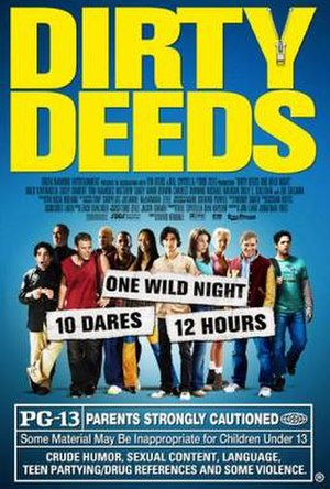 Dirty Deeds (2005 film) - Theatrical release poster
