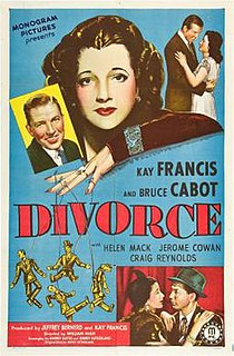 <i>Divorce</i> (film) 1945 film by William Nigh