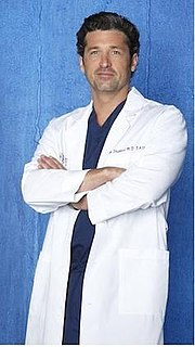 Derek Shepherd fictional character from the television show Greys Anatomy