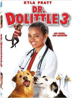 Dr. Dolittle 3 - DVD cover