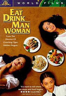 <i>Eat Drink Man Woman</i> 1994 film by Ang Lee