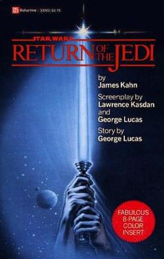 Return of the Jedi (novel) - Image: Episodevi returnofthejedi