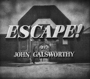 Escape (1930 film) - Image: Escape (1930 film)