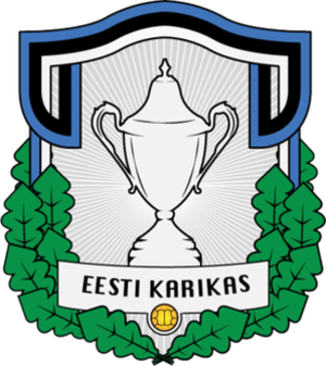 Estonian Cup - Image: Estonian Cup logo