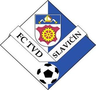 FC TVD Slavičín - Image: FC TVD Slavičín logo