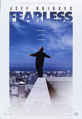 Fearless (1993 film) - Theatrical release poster