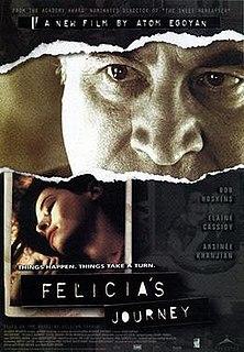 <i>Felicias Journey</i> (film) 1999 film by Atom Egoyan