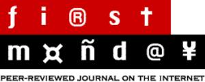 First Monday (journal) - Image: First Monday logo
