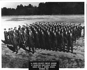 Ranger School - First graduating class of Ranger Training (1950)