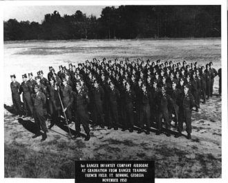 Ranger School - First graduating class of Ranger Training (1950)