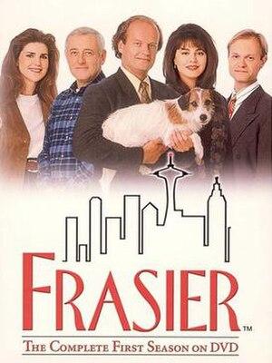 Frasier (season 1) - DVD cover