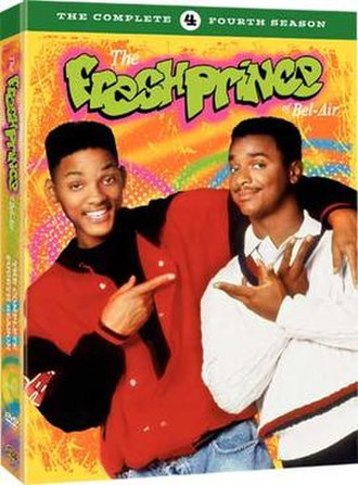 The Fresh Prince of Bel-Air (season 4) - DVD cover